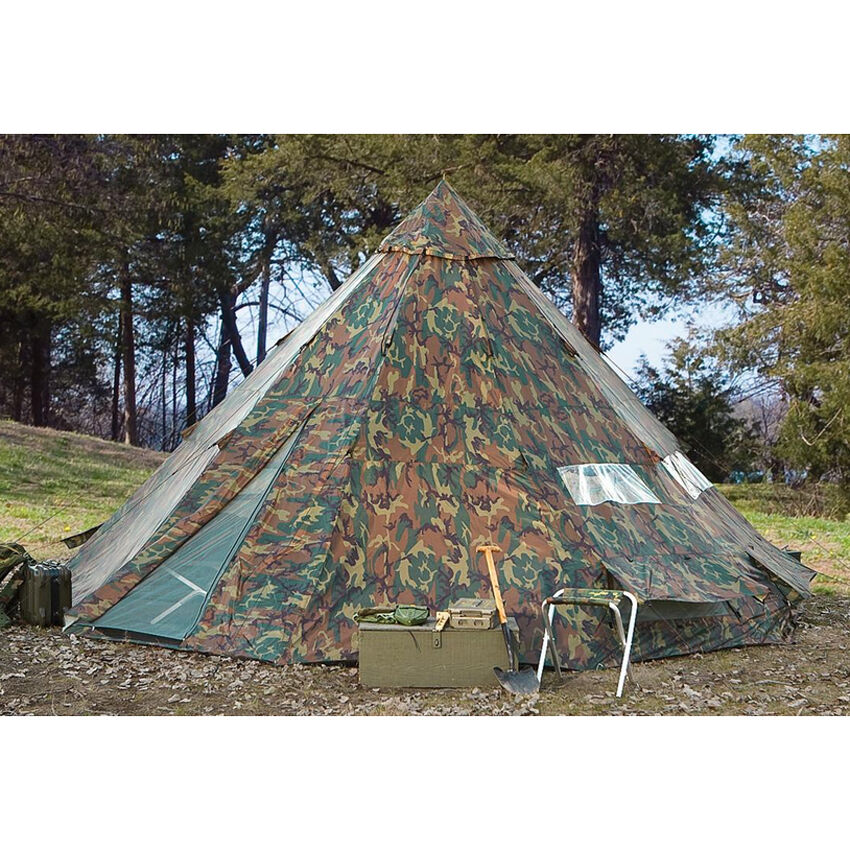 Camping Tent Teepee Tipi 6 Person Heavy Duty Waterproof