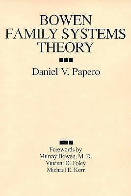 bowen family systems and the transgenerational approach Even though bowen theory is designed for families, family systems theory operates under the assumption that individuals must change so that the family unit can as well (becvar, 2009) as a result, effective communication is vital if change is to occur (rabstejnek, 2012.