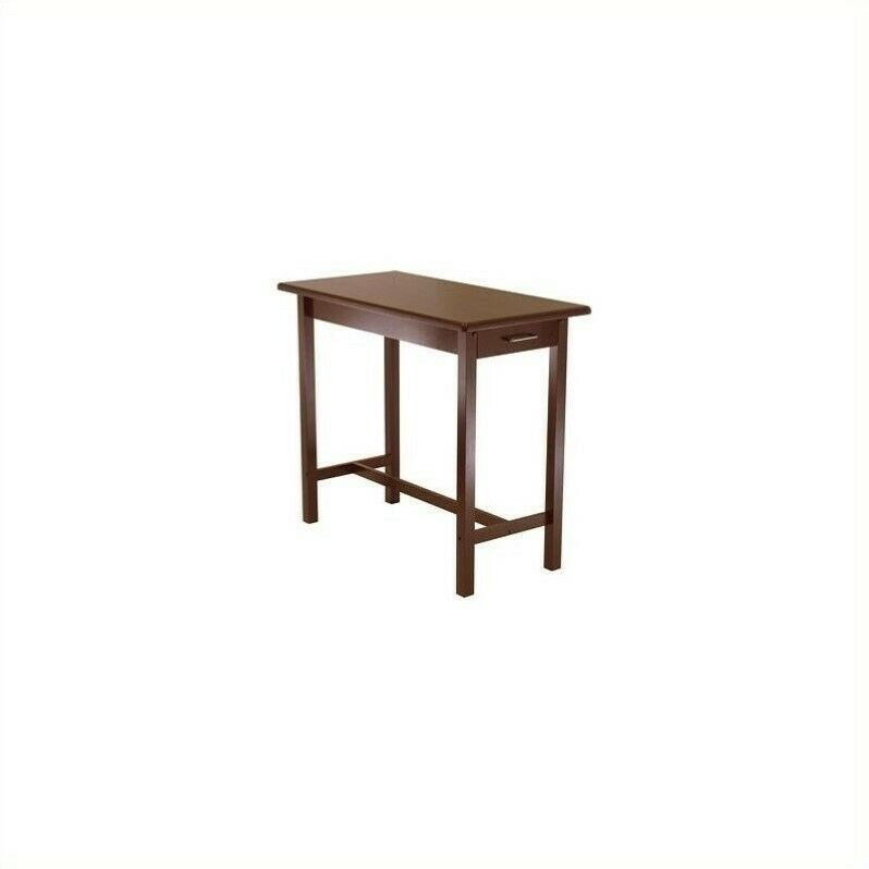 Butcher Block Wood Kitchen Table : Winsome Kitchen Island Table Wood Butcher Block in Antique Walnut eBay