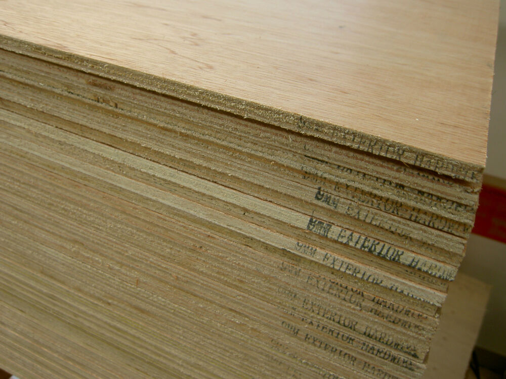 Plywood hardwood exterior ply sheets mm