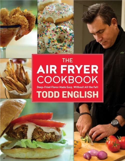 Hardcover Cookbook : Air fryer cookbook  todd english