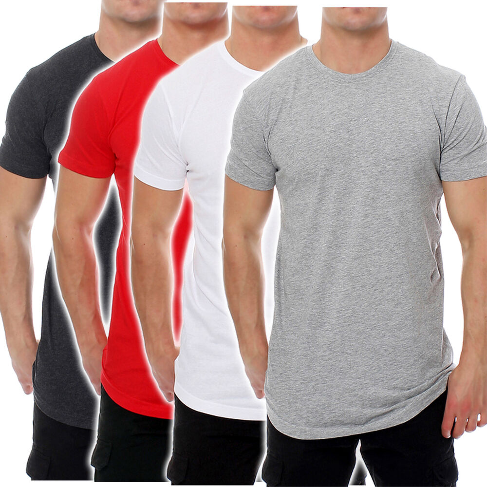 urban classics herren t shirt long tee tb638 ebay. Black Bedroom Furniture Sets. Home Design Ideas
