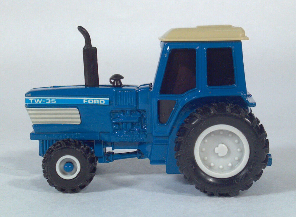 Ford Pulling Tractors : Ertl pow r pull ford tw farm tractor s scale model