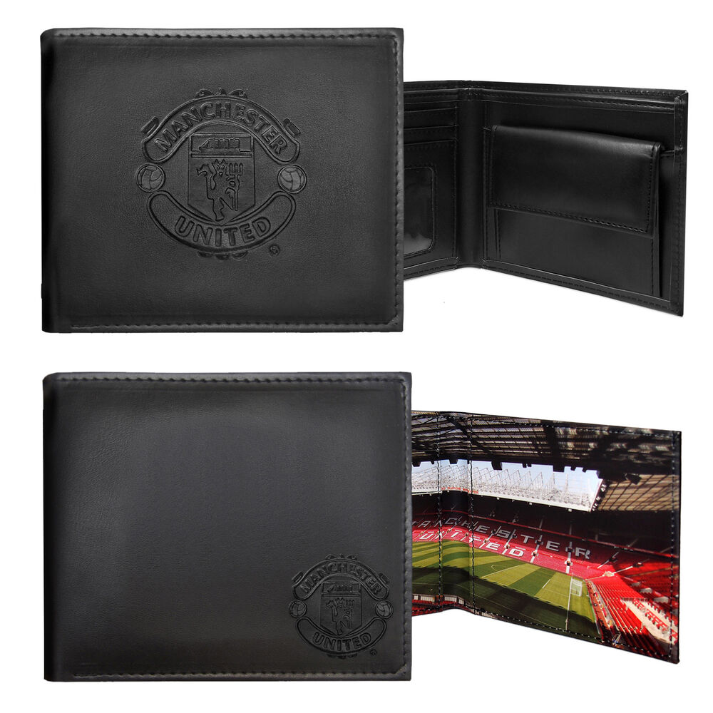 Manchester United Fc Official Football Gift Embossed Crest