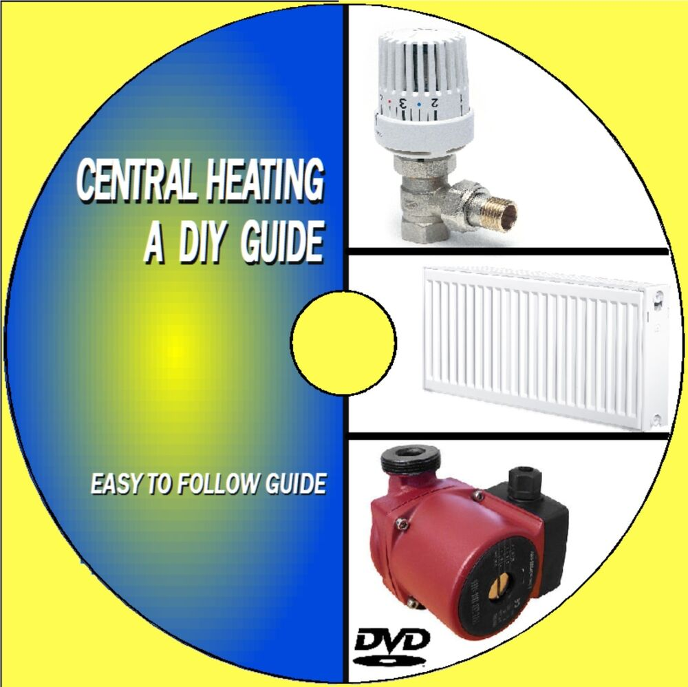 DIY GUIDE TO CENTRAL HEATING SYSTEMS VIDEO DVD STEP BY STEP SERVICE ...
