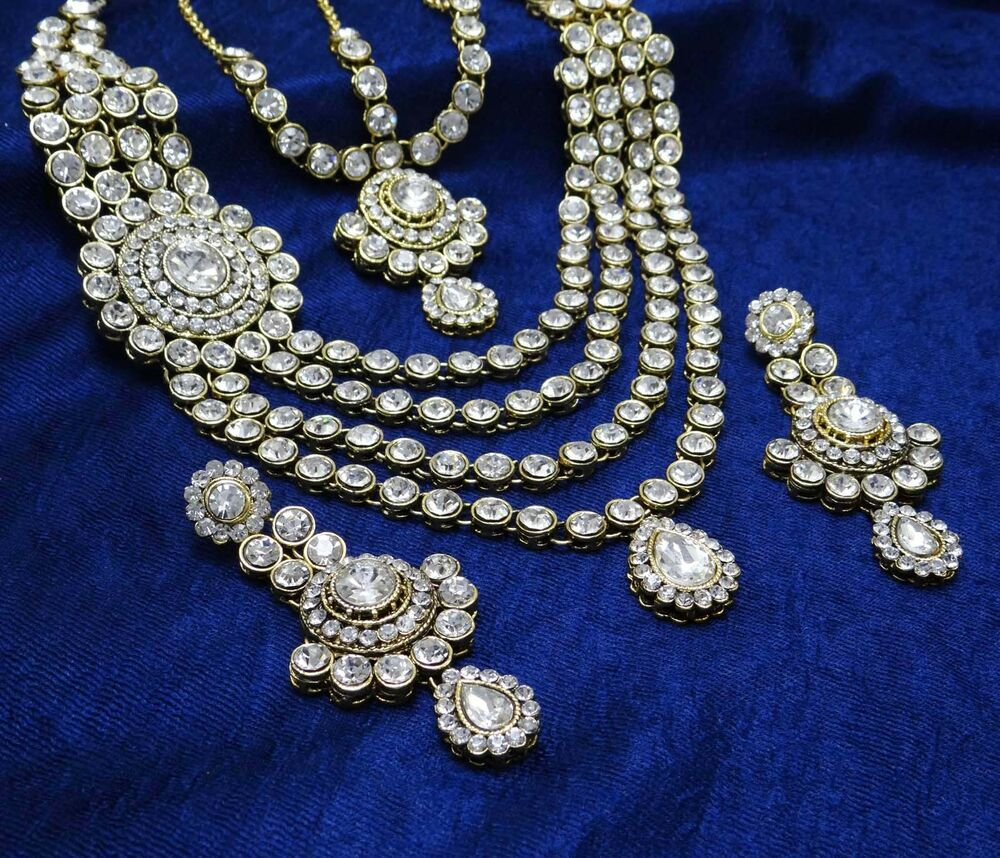 Indian Ethnic Bollywood Designer Necklace Set Traditional