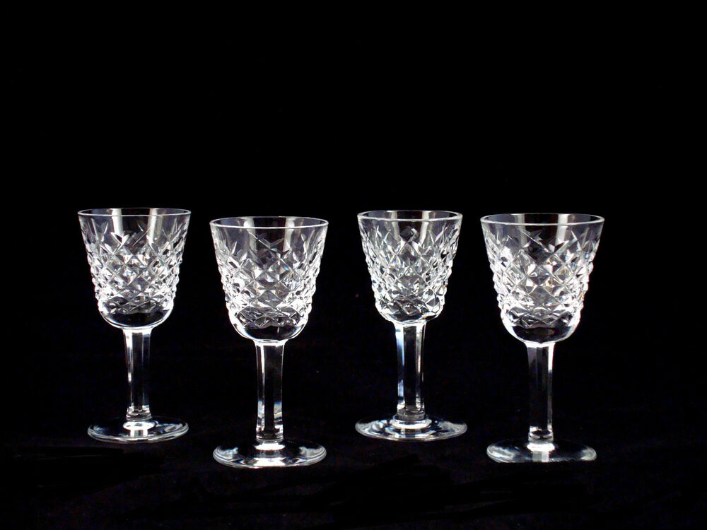Crystal Liqueur Glasses
