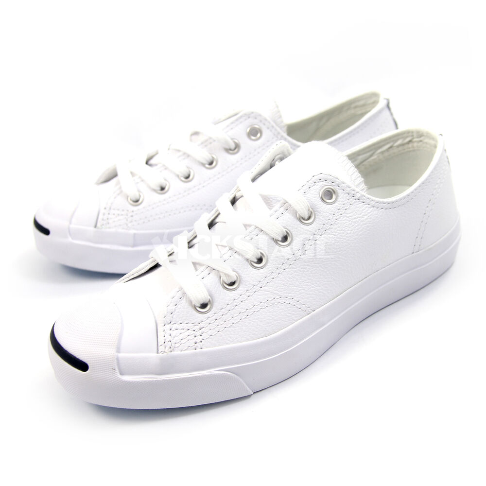converse mens womens purcell leather white classic