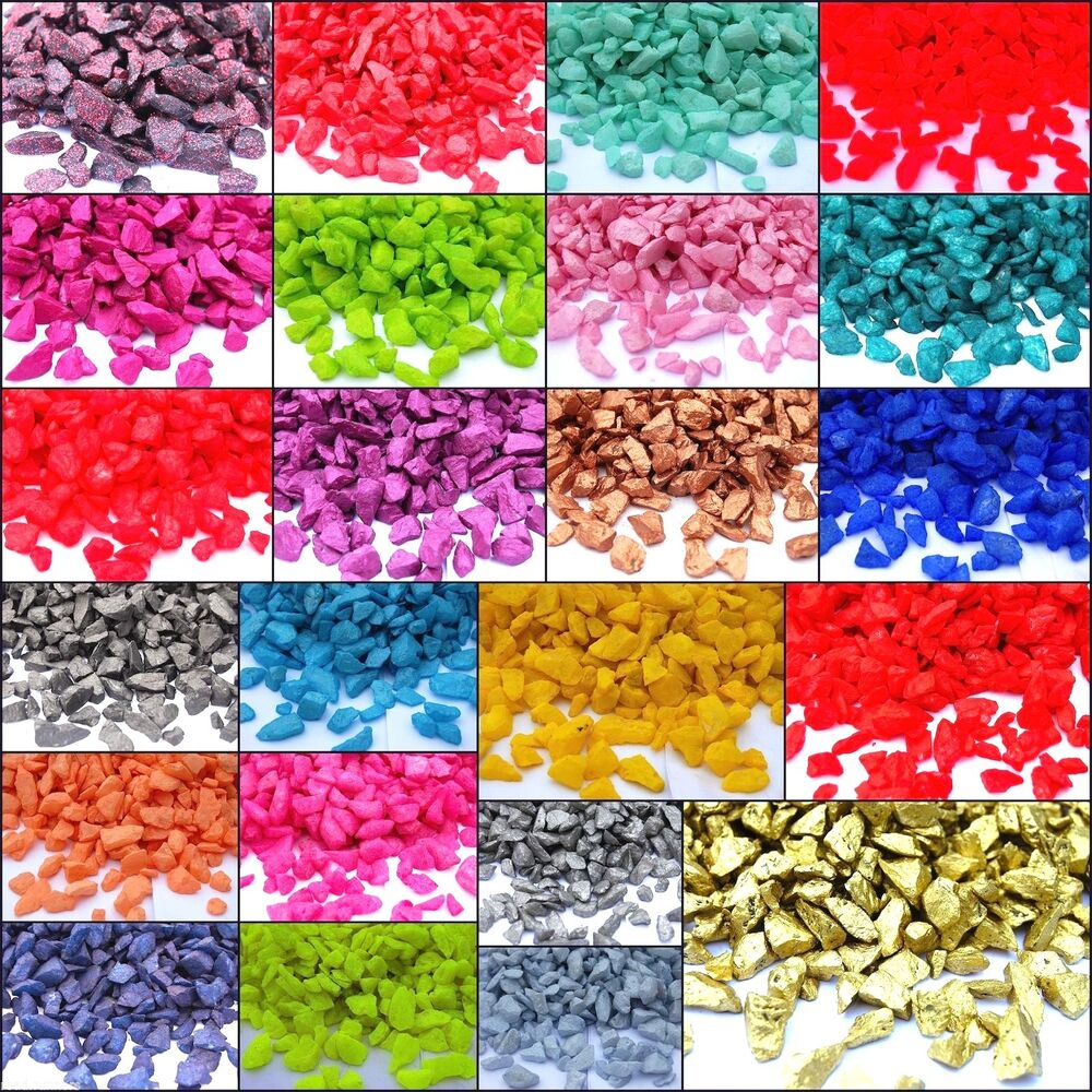 Crushed Colored Glass For Crafts
