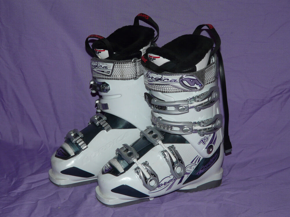 Nordica 75w Cruise Women S Alpine Downhill Ski Boots Size