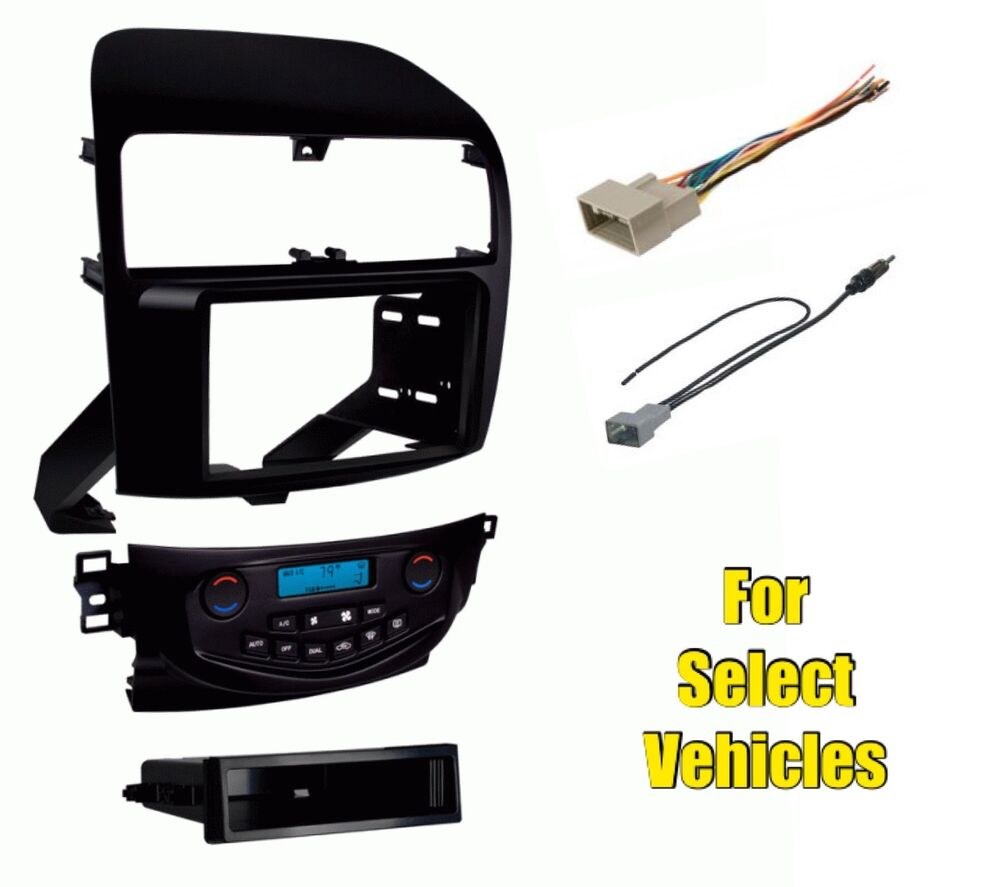 Car Stereo Radio Install Dash Mount Trim Kit Combo For
