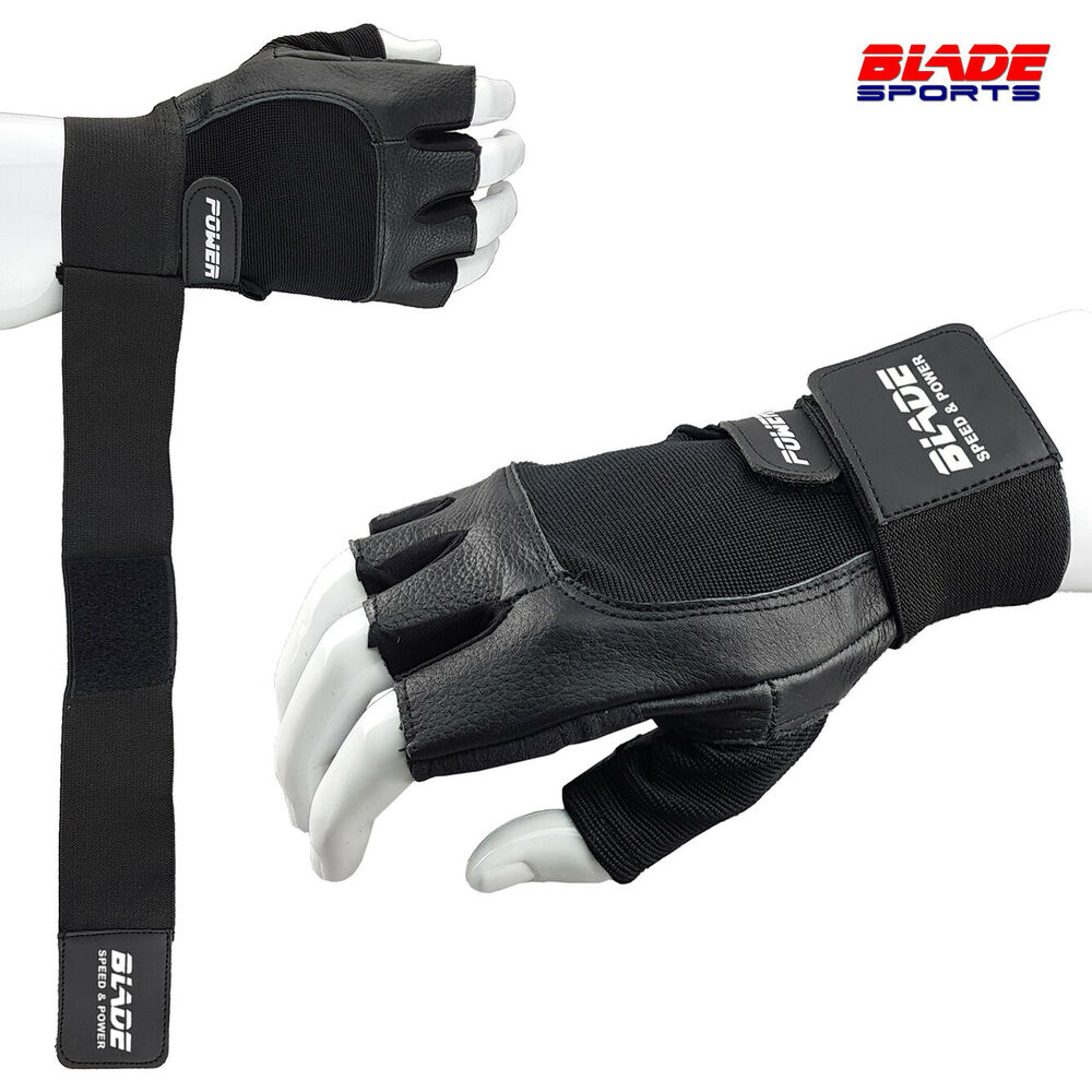 Gym Workout Best Weight Lifting Body Building Training Fitness Gloves With Strap  Ebay-2798