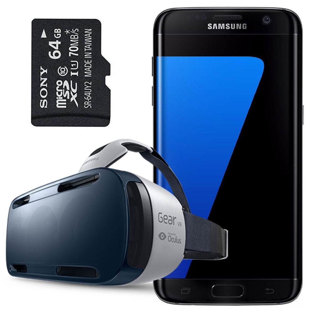 samsung galaxy s7 edge sm g935fd duos gear vr 64gb sd card factory unlocked ebay. Black Bedroom Furniture Sets. Home Design Ideas