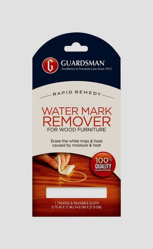 Guardsman Water Mark Amp Glass Ring Stain Remover Re Usable