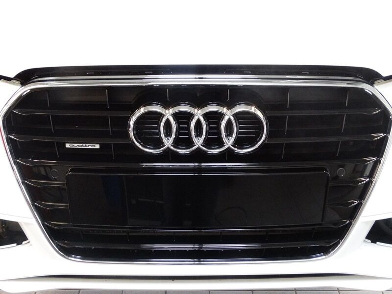 original audi a4 s4 8k b8 k hlergrill schwarz gl nzend 8k0853651f t94 ebay. Black Bedroom Furniture Sets. Home Design Ideas
