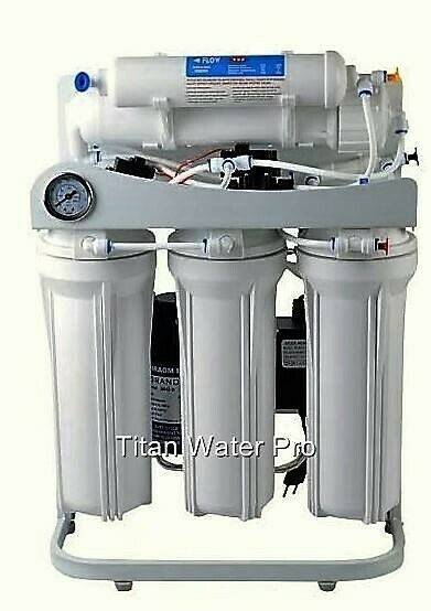 ro reverse osmosis water filter 5 stage system 300 gpd booster pump psi gauge ebay. Black Bedroom Furniture Sets. Home Design Ideas