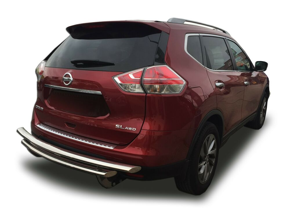 Acura Rdx Accessories >> Broadfeet Rear Bumper Guard Double Layer Protector for 2014-2018 Nissan Rogue | eBay