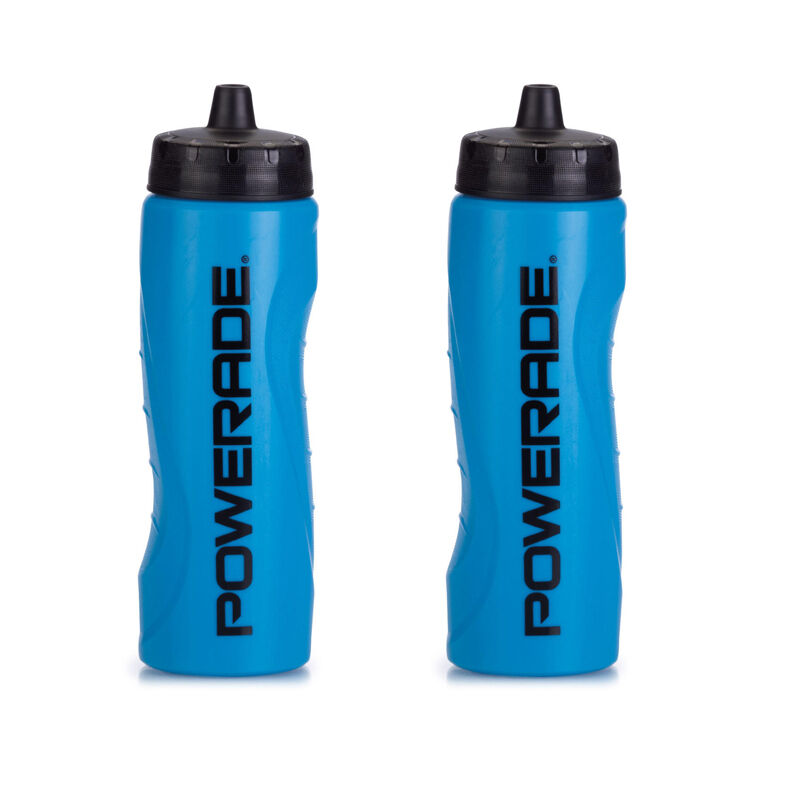 Powerade 28 Oz Sports Clutch Water Bottle With Squeeze Cap