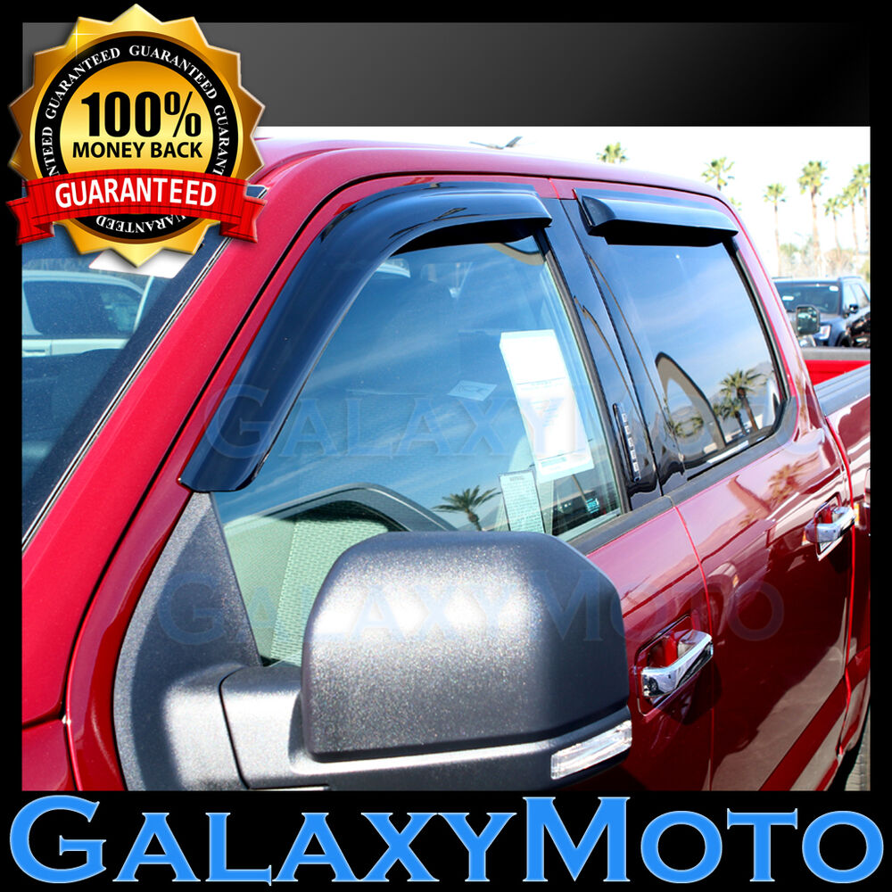 15 16 Ford F150 Super Crew Cab Smoke Front Rear 4 Door