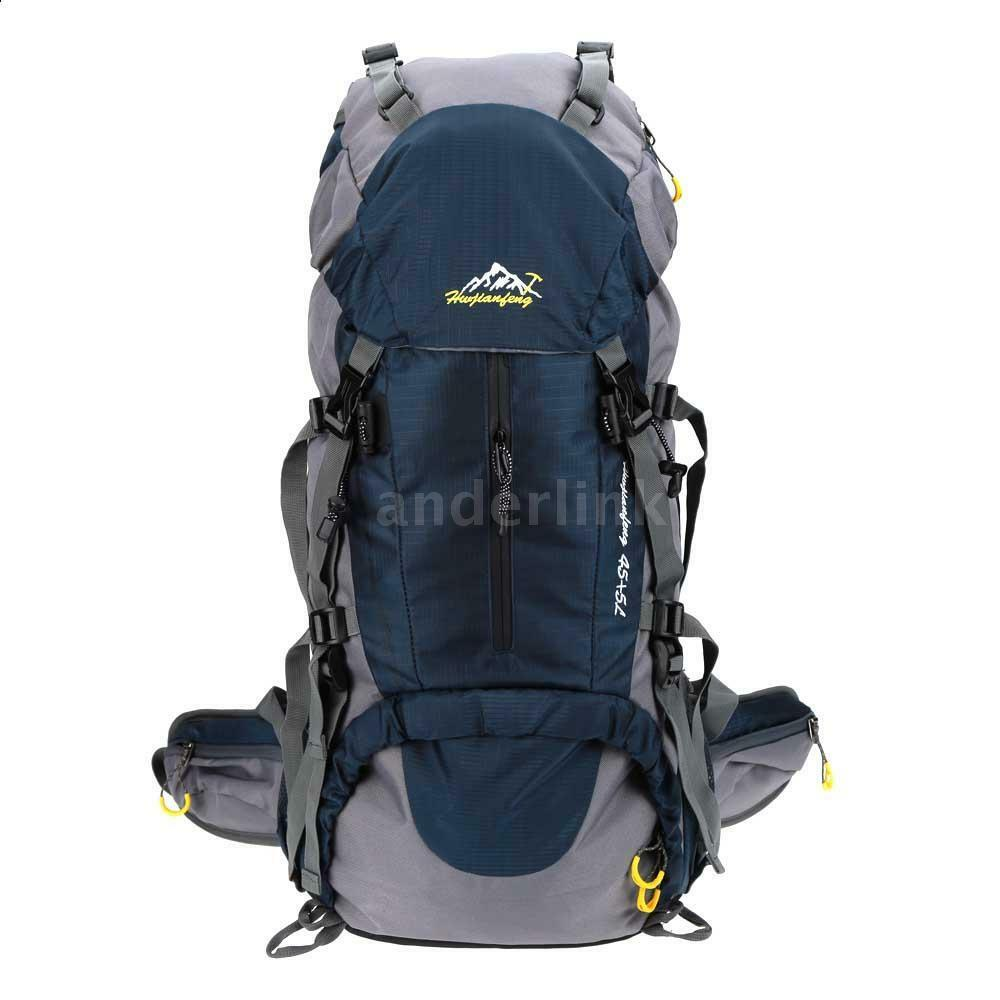 50L Trekking Backpack Pack Mountaineering Climbing ...