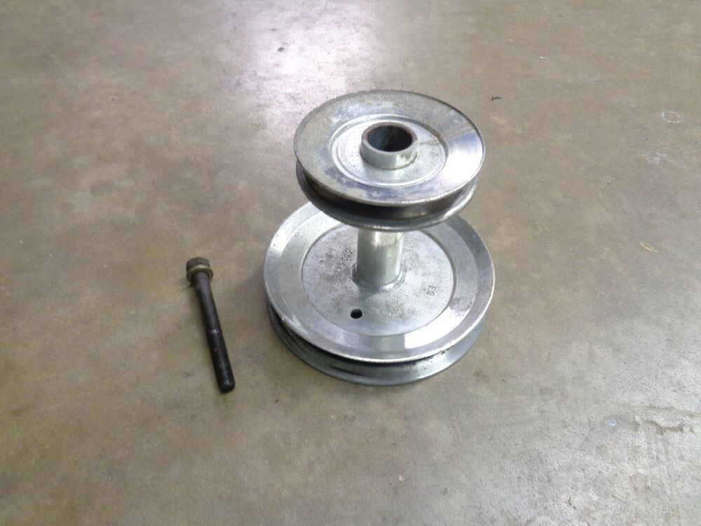 Craftsman Dyt 4000 Pulley Parts : Craftsman yt yts motor pulley with bolt ebay