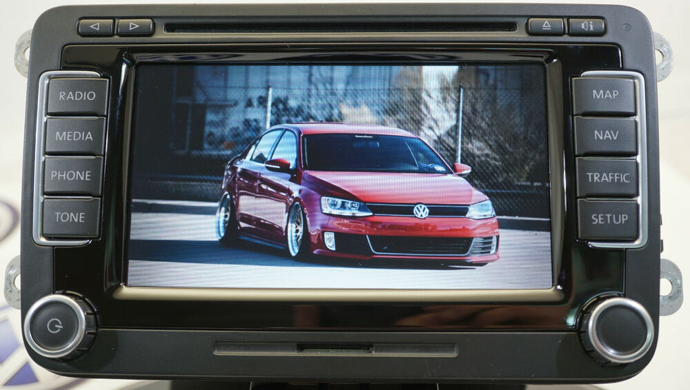 vw rns 510 sat nav dvd mp3 unit 1t0035680b 2018 v15 maps. Black Bedroom Furniture Sets. Home Design Ideas