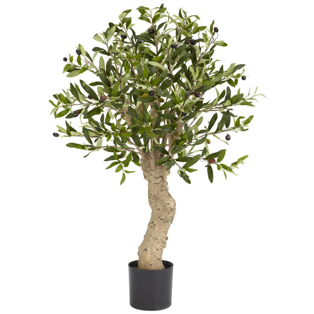 New Realistic 2 1 2 39 Silk Olive Tree Artificial Fake