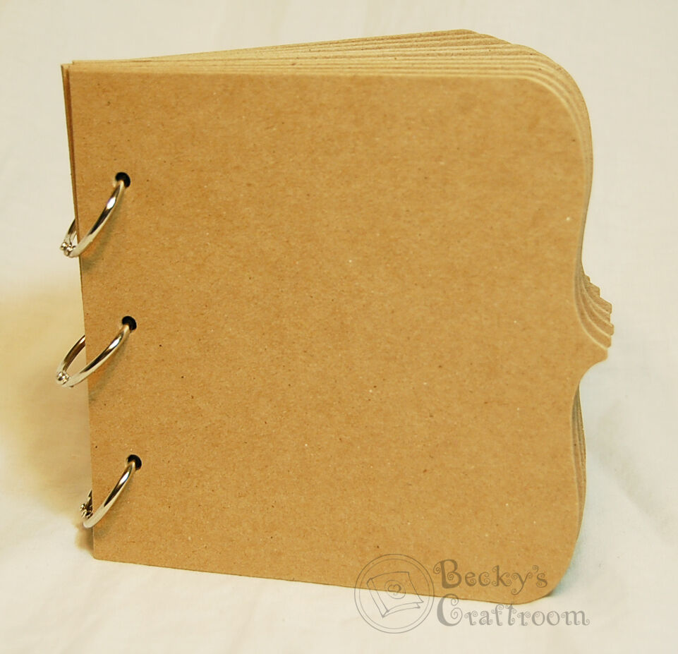 Quot x bare chipboard bracket album pages rings