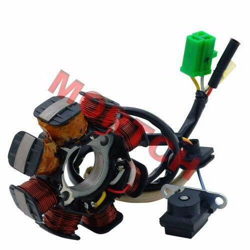 Gy6 50cc 8 Pole Stator 4 Wires Magneto For 125cc 150cc