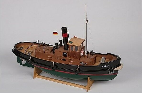 Kalle radio control steam tug boat 1 33 scale aero naut for Rc fishing boat for sale