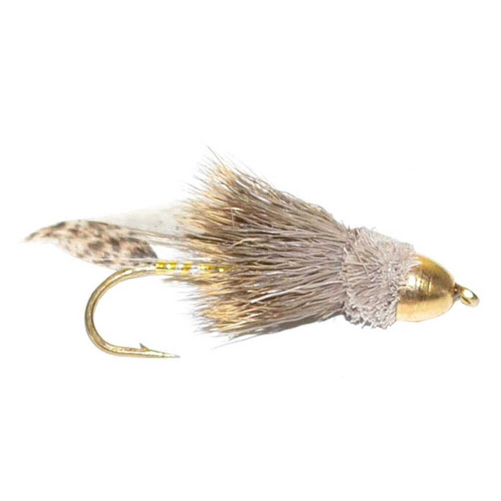Cone head muddler minnow trout bass steelhead streamer fly for Fly fishing flies for bass