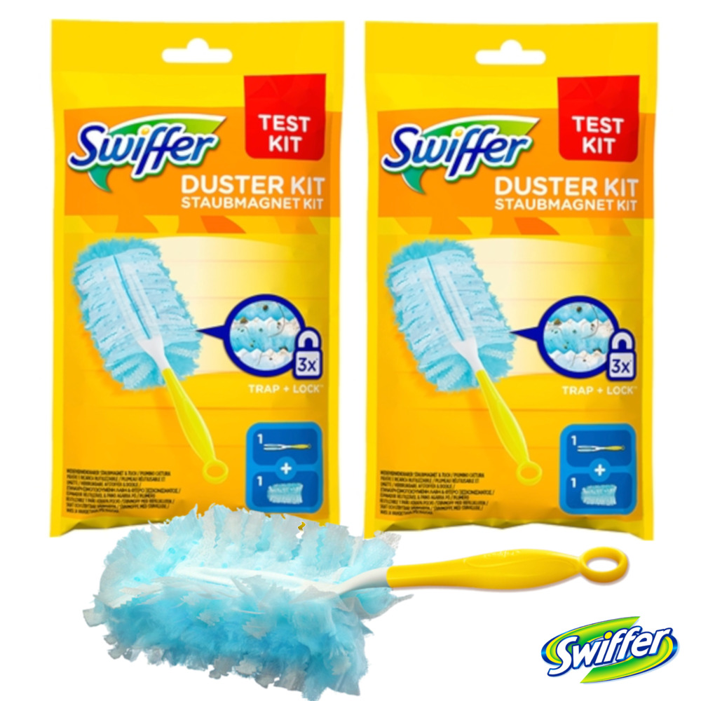 Swiffer Duster Starter Kit Disposable Unscented Cleaning