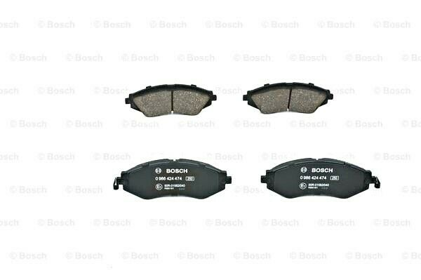 Bosch Disc Brake Pads Set Front Axle Fits Chevrolet Epica Daewoo