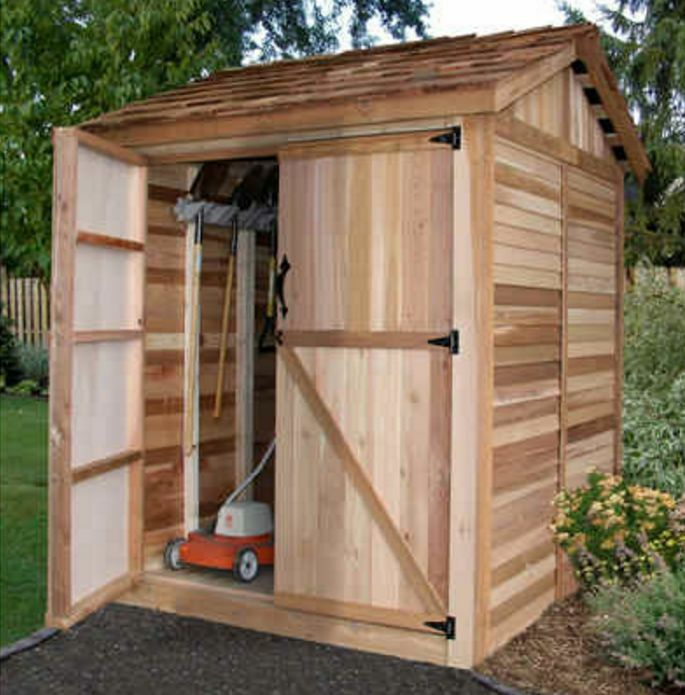 Outdoor Living Today 6x6 Maximizer Storage Shed Max66 Ebay