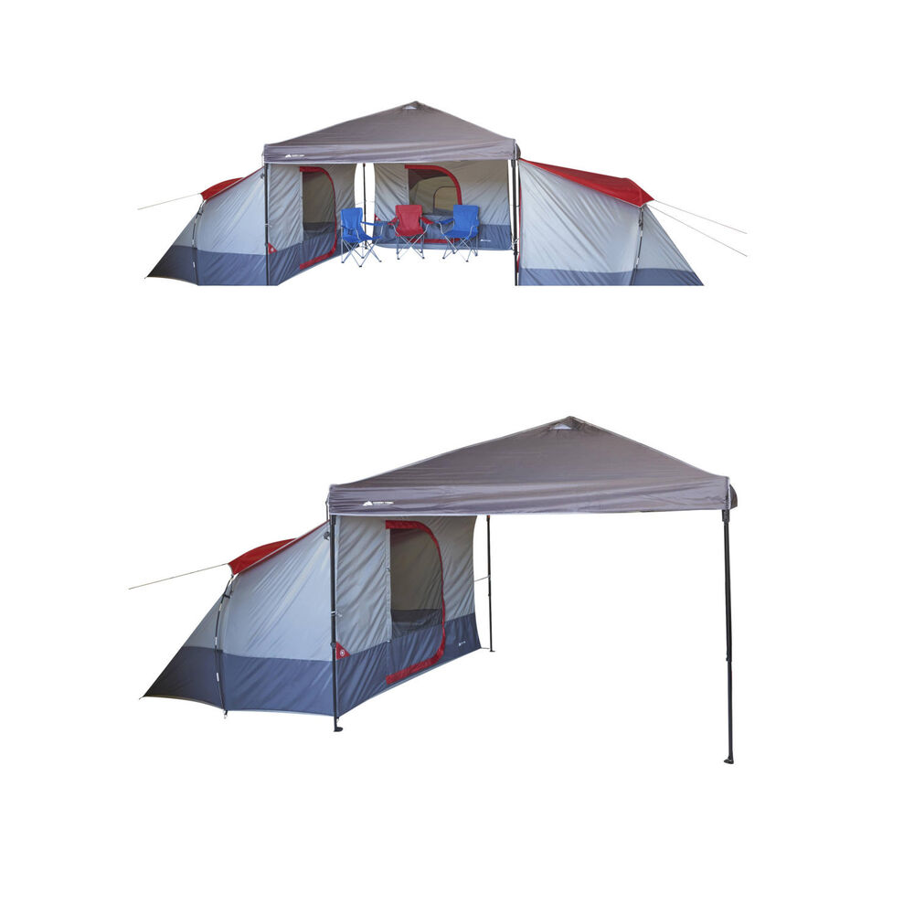 Family Camping Tent 4 Person Large Canopy Equipment