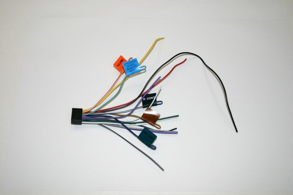 Kenwood Original Wiring Harness Ddx319 Ddx419 Ddx719