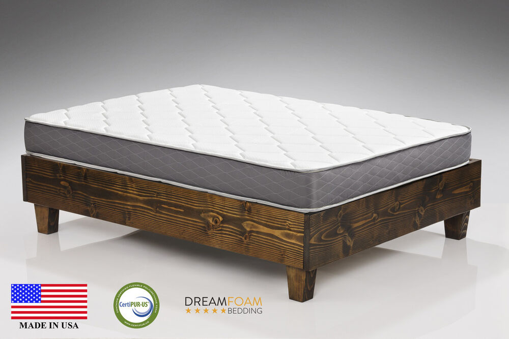 Spring Dreams 9 Quot Two Sided Pocket Coil Mattress Ebay