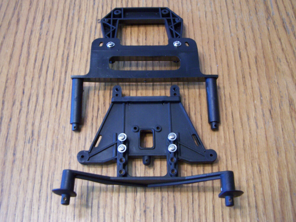 Traxxas 2wd Stampede Front Amp Rear Shock Towers Body Mounts