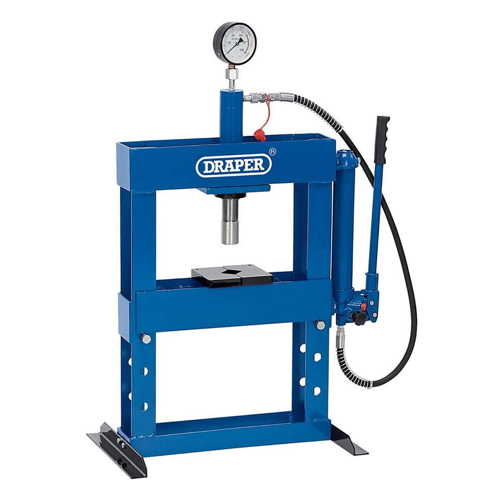 Draper Workshop 10 Tonne Hydraulic Bench Press Amp High