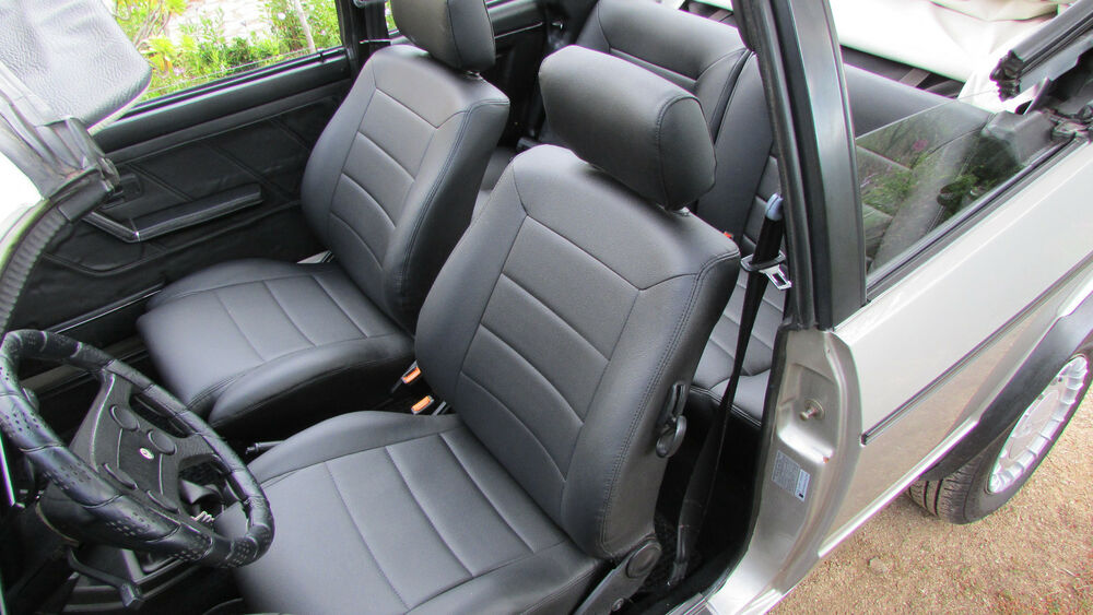 VW Golf Cabrio RabbitCabriolet Convertible seat covers 85