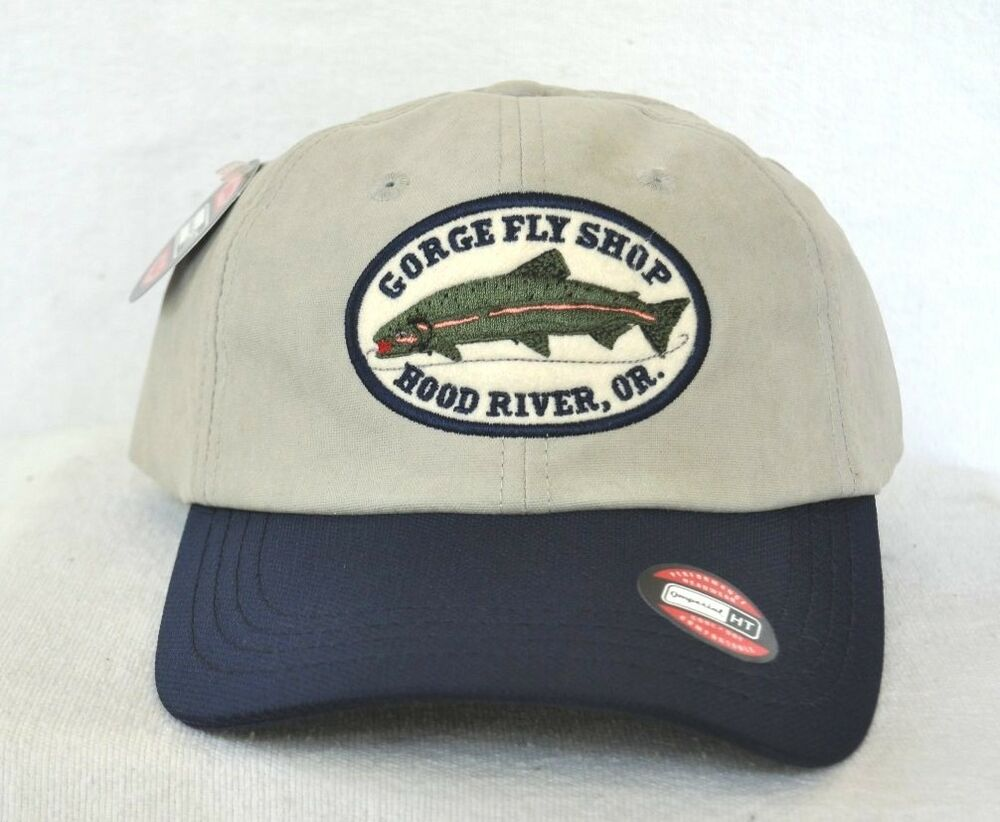 Columbia river gorge fly shop fishing hat cap imperial for Columbia fishing hat