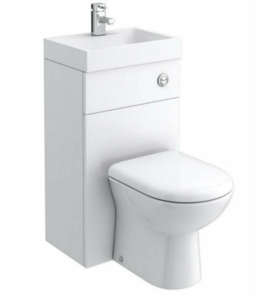 combination wc hand basin unit btw back to wall toilet pan. Black Bedroom Furniture Sets. Home Design Ideas