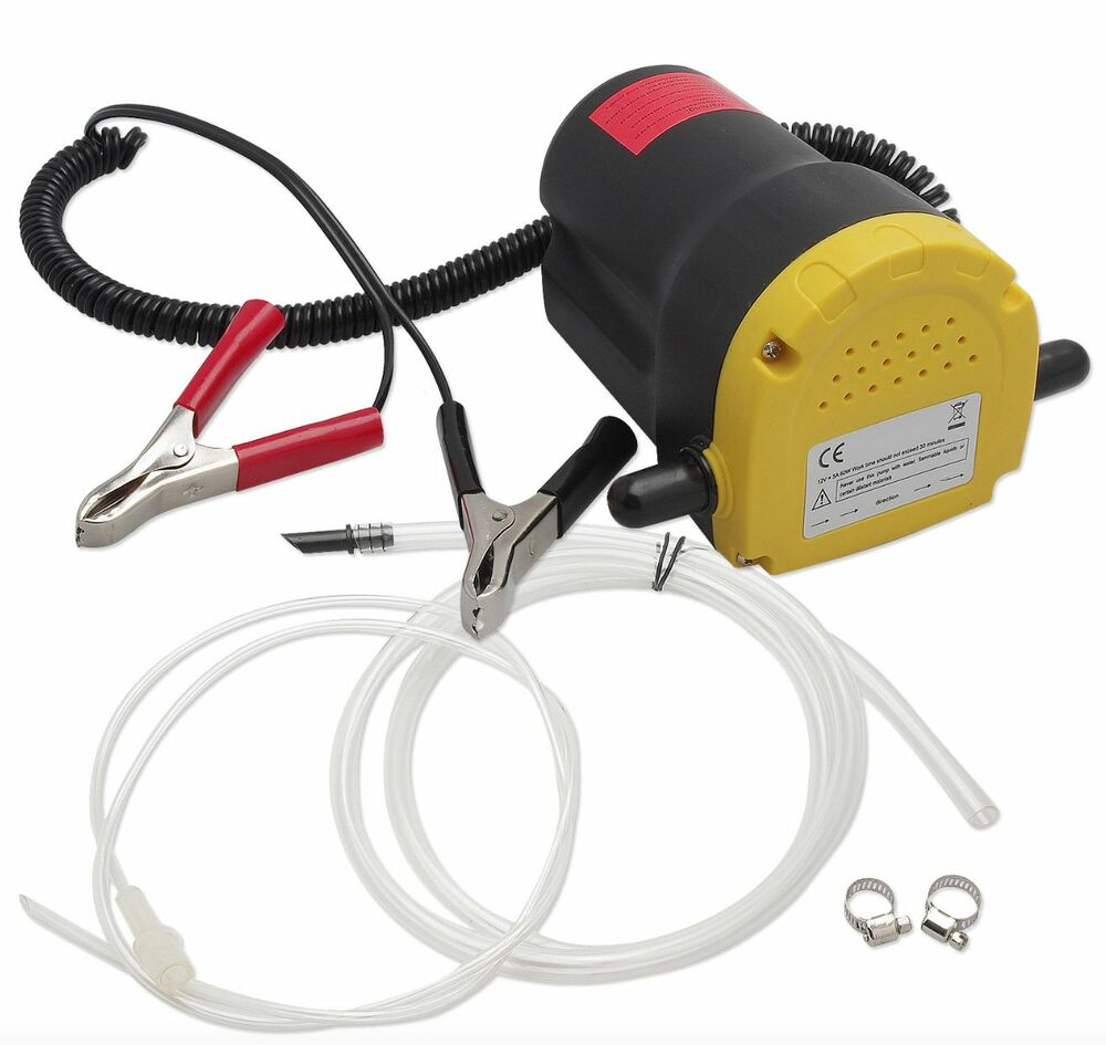 Details About New Wheels N Bits 12 Volt Electric Transfer Pump With Hoses And Cord Clips