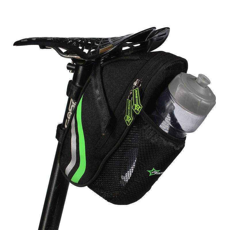 rockbros cycling bicycle saddle bag pannier mtb road bike seat bag tail storage ebay. Black Bedroom Furniture Sets. Home Design Ideas