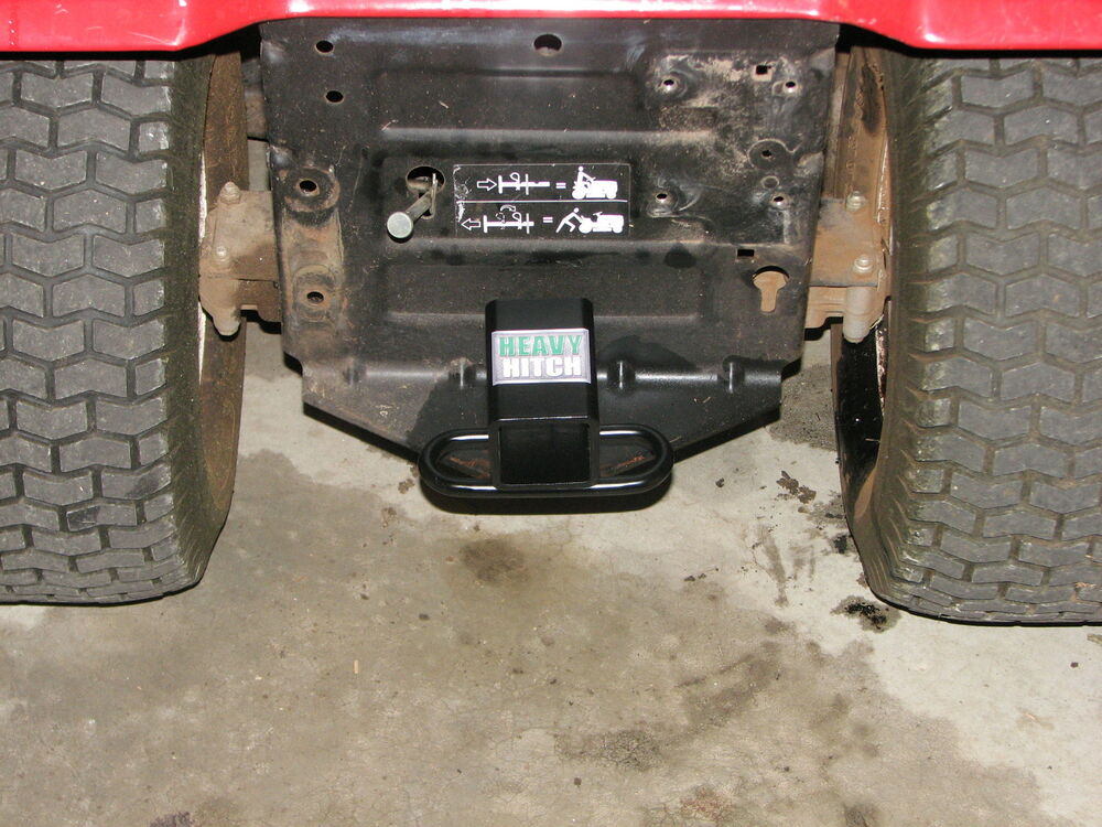 Lawn Tractor Hitch Receiver : Lawn tractor wheeler hitch receiver ebay