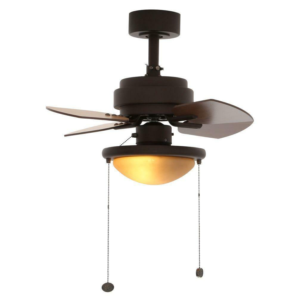 24 39 39 indoor compact ceiling fan w light reversible tiny room small spaces decor ebay. Black Bedroom Furniture Sets. Home Design Ideas