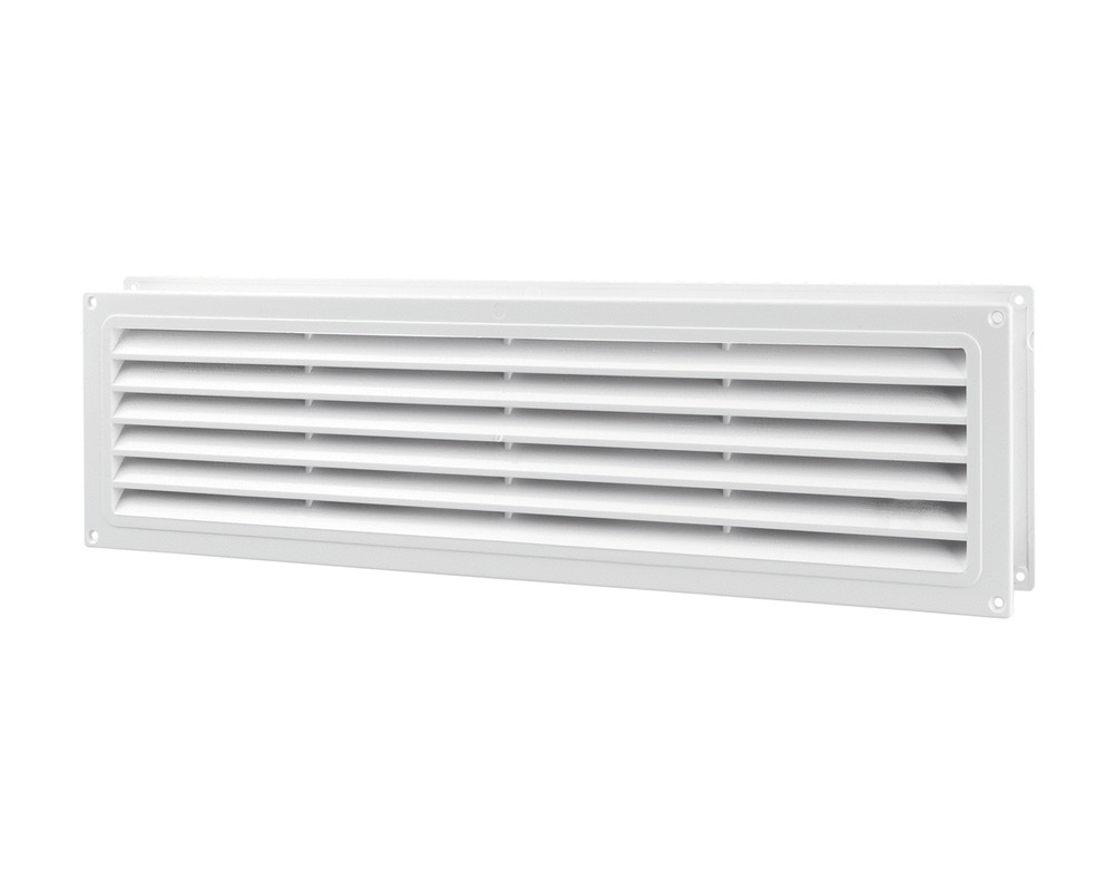 door air vent grille 370x130mm white ventilation grill two sided abs mv 350 2 ebay. Black Bedroom Furniture Sets. Home Design Ideas