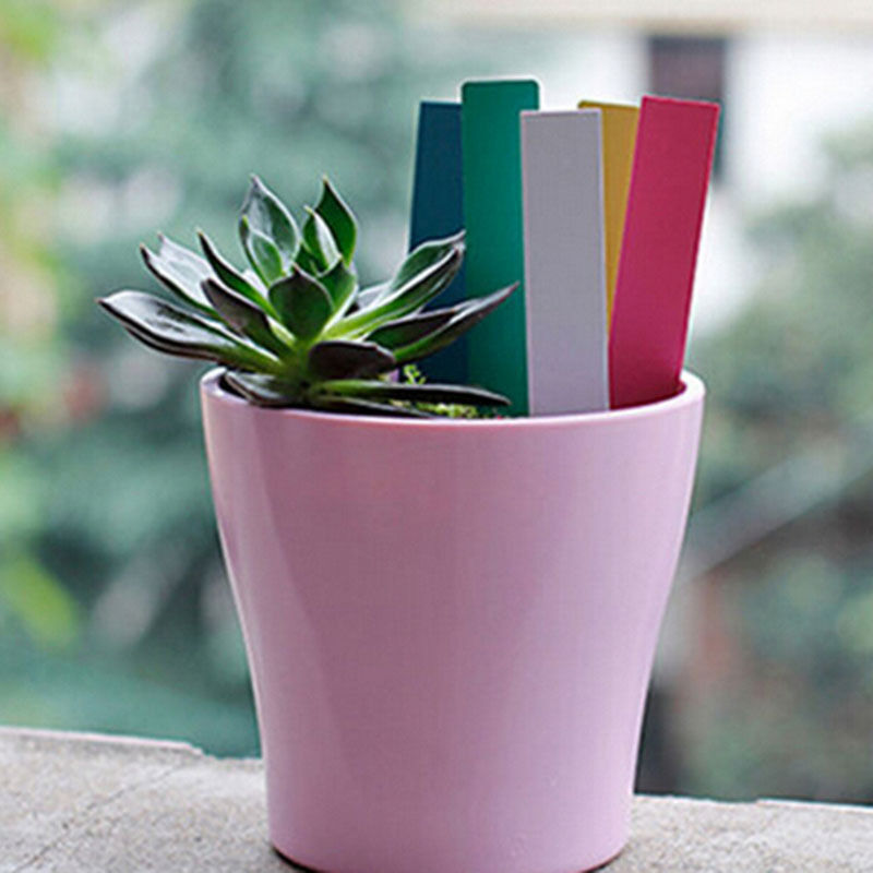 Garden Plant Pot Markers Plastic Stake Tags Home Yard ...