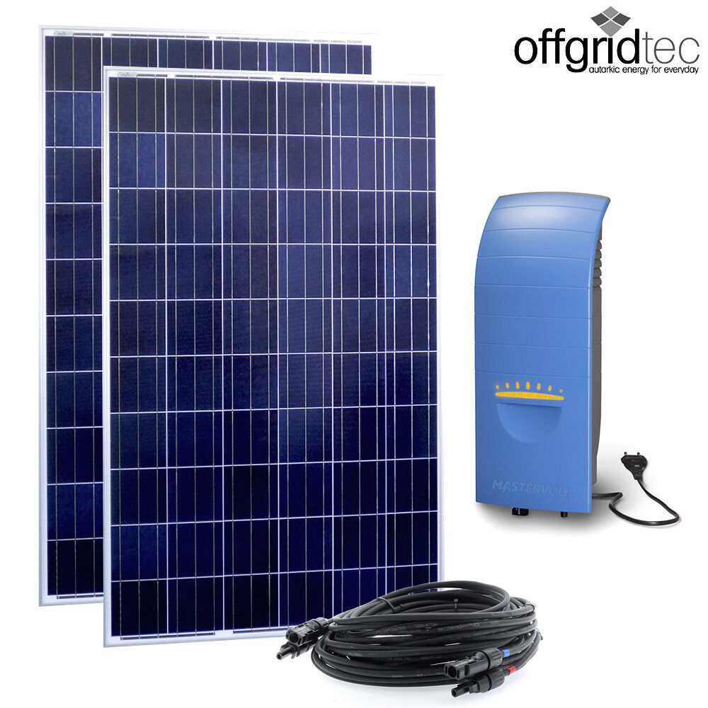 offgridtec solar direct 500w solaranlage hausnetz einspeisung steckdose ebay. Black Bedroom Furniture Sets. Home Design Ideas