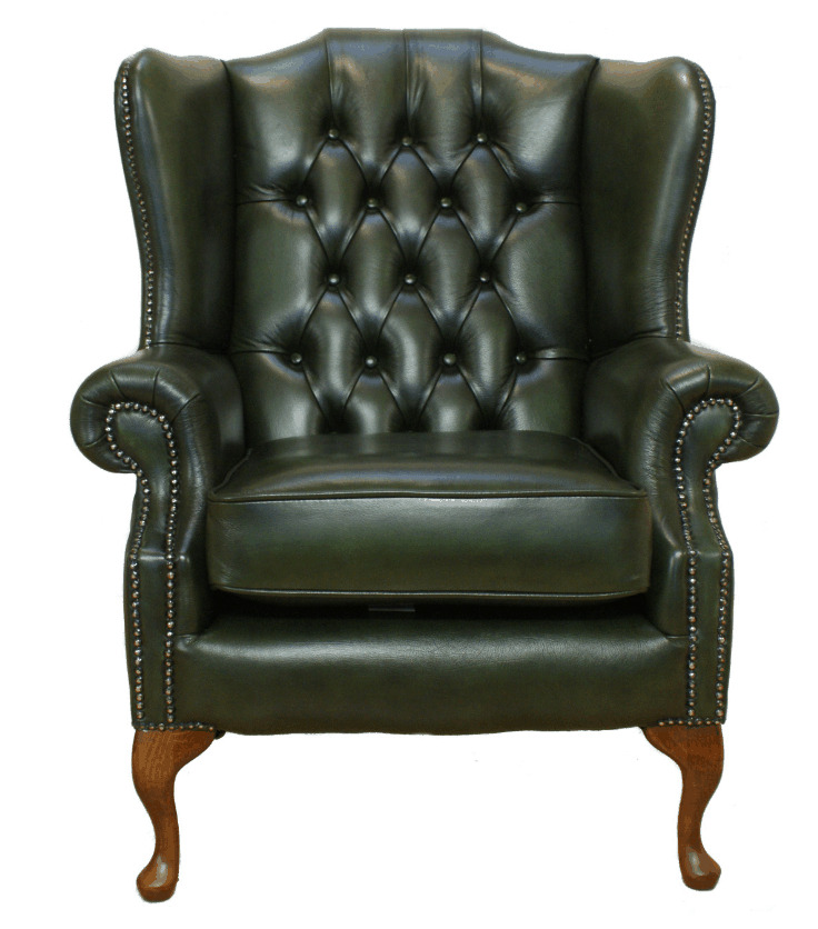 Chesterfield Armchair Mallory High Back Fireside Wing ...